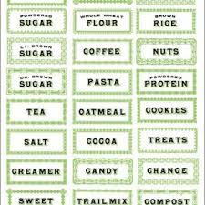 labels for kitchen canisters printable kitchen labels i how it all coordinates for the
