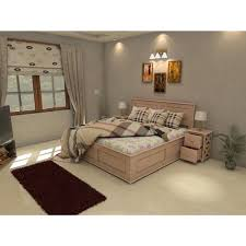 Double Bed Designs Catalogue German Beech King Size Double Bed Wooden Double Beds Bedroom