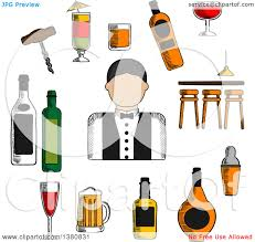 martini shaker silhouette beer clipart cocktail shaker pencil and in color beer clipart