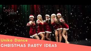christmas party ideas dance entertainment youtube