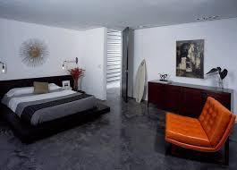 modern male bedroom designs gray gloss floating bed white platform