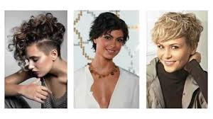Kurze Haar Frisuren F Frauen by Kurze Lockige Haare