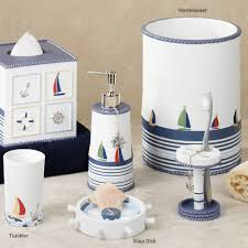 Bath Accessories Collections Bathroom Breathtaking Luxury Nautical Bathroom Decor With