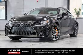 used lexus for sale montreal 2017 lexus rc f groupe performance 8 used for sale in 145 demo