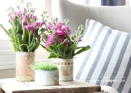 Tin Flower Vases How To Make An Upcycled Tin Can Vase Using Old Maps Somewhat Simple