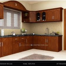 Rubberwood Kitchen Cabinets Tag For Kitchen Cabinets In Kerala Kitchen View Kerala New
