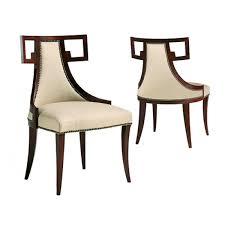 baker dining room chairs baker thomas pheasant greek dining chair furniture pinterest