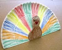 turkey plate craft thanksgiving stand up turkey paper plate craft preschool crafts