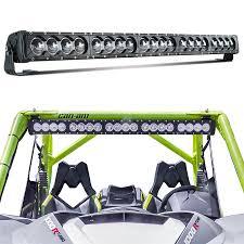 20 single row led light bar 44 inch 200w led light bar spot flood combo 30 000 lumens cree led