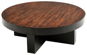round wood coffee table rustic reclaimed wood coffee table soft modern cocktail