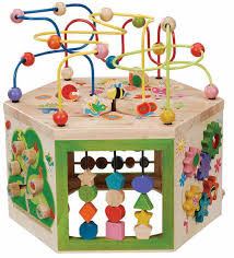 Activity Table For Kids Wooden Abacus And Bead Frame Activity Tables For Kids Wooden Fire