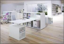 Modern White Office Table Furniture Modern Black Stained Wooden Desktop Computer Desk Which