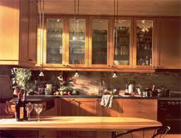 Kitchen With Glass Cabinet Doors Residential Custom Cabinet Glass Riverside California American