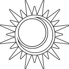 sun moon drawing 14 pics drawing sun moon coloring