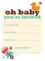 free printable baby shower invitations templates for boys free
