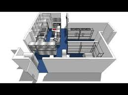 Commercial Kitchen Designers Commercial Kitchen Design 3d Walkthrough Avi Youtube