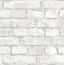 wonderfull distressed white brick wallpaper remodel brick wall