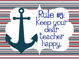 Adventures in Whole Brain Teaching New 5 Rules Posters Nautical
