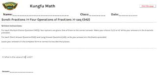 math grade 5 fractions worksheets and resources singapore math