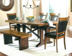 dining room tables with bench dining table in living room dining room and living room decorating