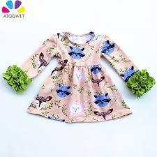 aliexpress com buy 2017 fall long sleeve children fox dresses