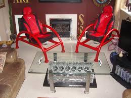 let u0027s go top gear custom built chairs and v12 aston martin engine
