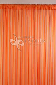 Chiffon Drape Chiffon Drape Orange Decorative Events U0026 Exhibitions