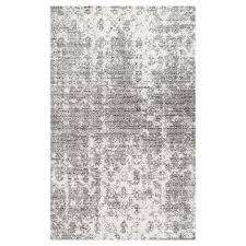 White Grey Rug Blue Area Rugs Target