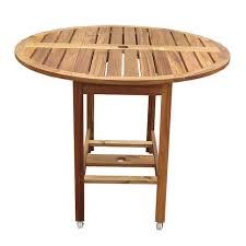 folding patio dining table kiln dried hardwood 39 inch folding patio dining table with wheels