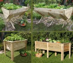 elevated portable planter box crafty and creative pinterest