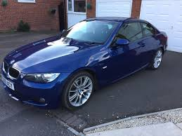 2009 bmw 320i coupe msport manual blue in castle bromwich west