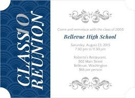 Invitation Card Matter Paperinvite Reunion Invitation Cards High College Class Reunion