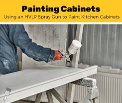 is it better to paint or spray kitchen cabinets top 6 best hvlp spray guns for cabinets 2021 review pro