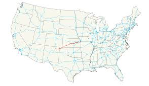 American Route Map by U S Route 56 Wikipedia