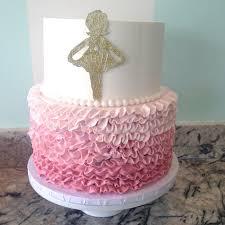 ballerina baby shower cake baby shower cakes