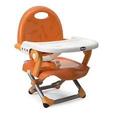 booster seat for bench table chicco pocket snack booster seat mandarino amazon co uk baby