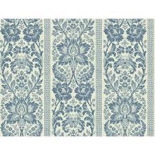 york wallcoverings home design york wallcoverings blue floral damask stripe wallpaper in french