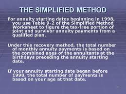 joint survivor annuity tables liberty tax service online basic income tax course lesson 9 ppt