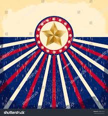 Star Flags Vintage Star Flag Background Card Western Stock Vector 298871810