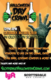 Happy Birthday On Halloween by Halloween Day Crawl Sat Oct 28th In Scottsdale Tickets Sat