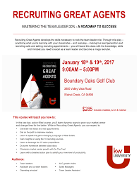 Recruiting Assistant Recruiting Great Agents Beverly Steiner Tickets Wed Jan 18
