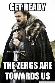 Zerg Rush Meme - rush