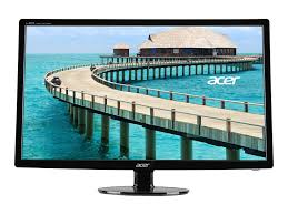 best black friday computer monitor deals amazon com acer s241hl bmid 24 inch widescreen lcd monitor