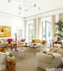 Living Room With Bold Color House Beautiful Pinterest Favorite - House beautiful living room colors