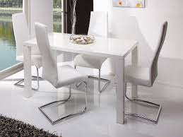 Dining Tables And Chair Sets Home Design Graceful White Gloss Table And Chairs Round Dining