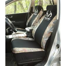 Realtree Bench Seat Covers 2 Browning Spandex Seat Covers With Bonus Decal 206007 Seat