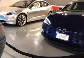 this is the tesla model 3 you didn u0027t get to see at the vip factory
