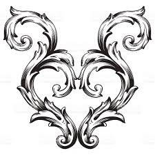 frame scroll ornament illustration stock vector 498093468 istock