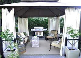 Diy Outdoor Gazebo Canopy by Furnishing Ideas Home Furniture And Decoration Ideas