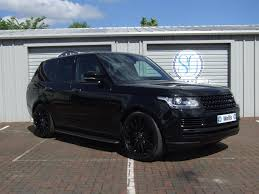 black land rover with black rims used 2013 land rover range rover sdv8 vogue se for sale in